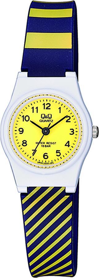 Đồng hồ nữ thời trang Q&Q Citizen VP47J032Y dây nhựa thương hiệu Nhật Bản