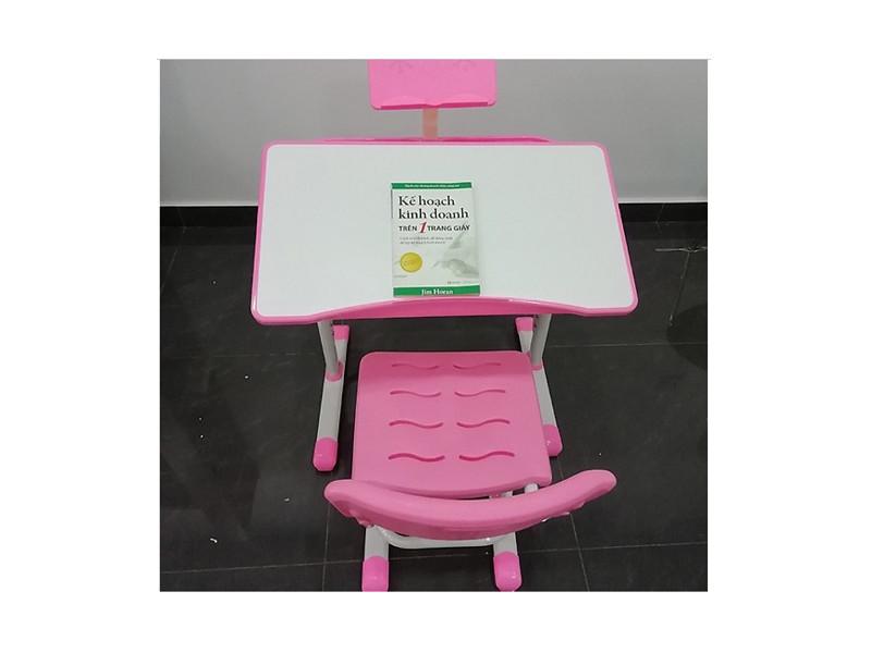 Combo bộ bàn ghế học sinh chống gù, chống cận cho trẻ từ 3 tới 14 tuổi K02L