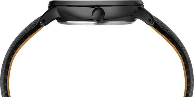 Đồng hồ Dây Da Nam Timex Southview 41mm Black Case Black Dial Black Leather Strap - TW2T35200