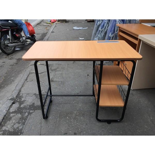 Bàn học sinh và bàn làm việc tháo ráp Xuân hòa BHS 05-00 có 2 đợt gỗ để tài liệu, sách vở