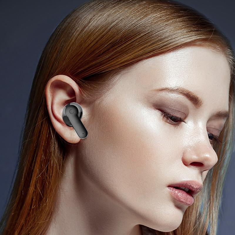 Tai Nghe Nhét Tai True Wireless Bluetooth 5.0 PKCB266 - Hàng Chính Hãng