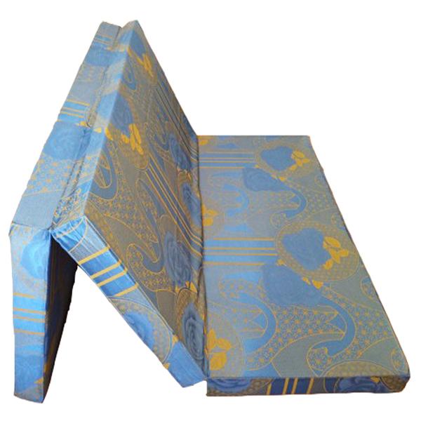 Nệm Bông Ép (1m55x1m95x9cm) Gấp 3 Hàn Quốc - Giao Màu Ngẫu Nhiên