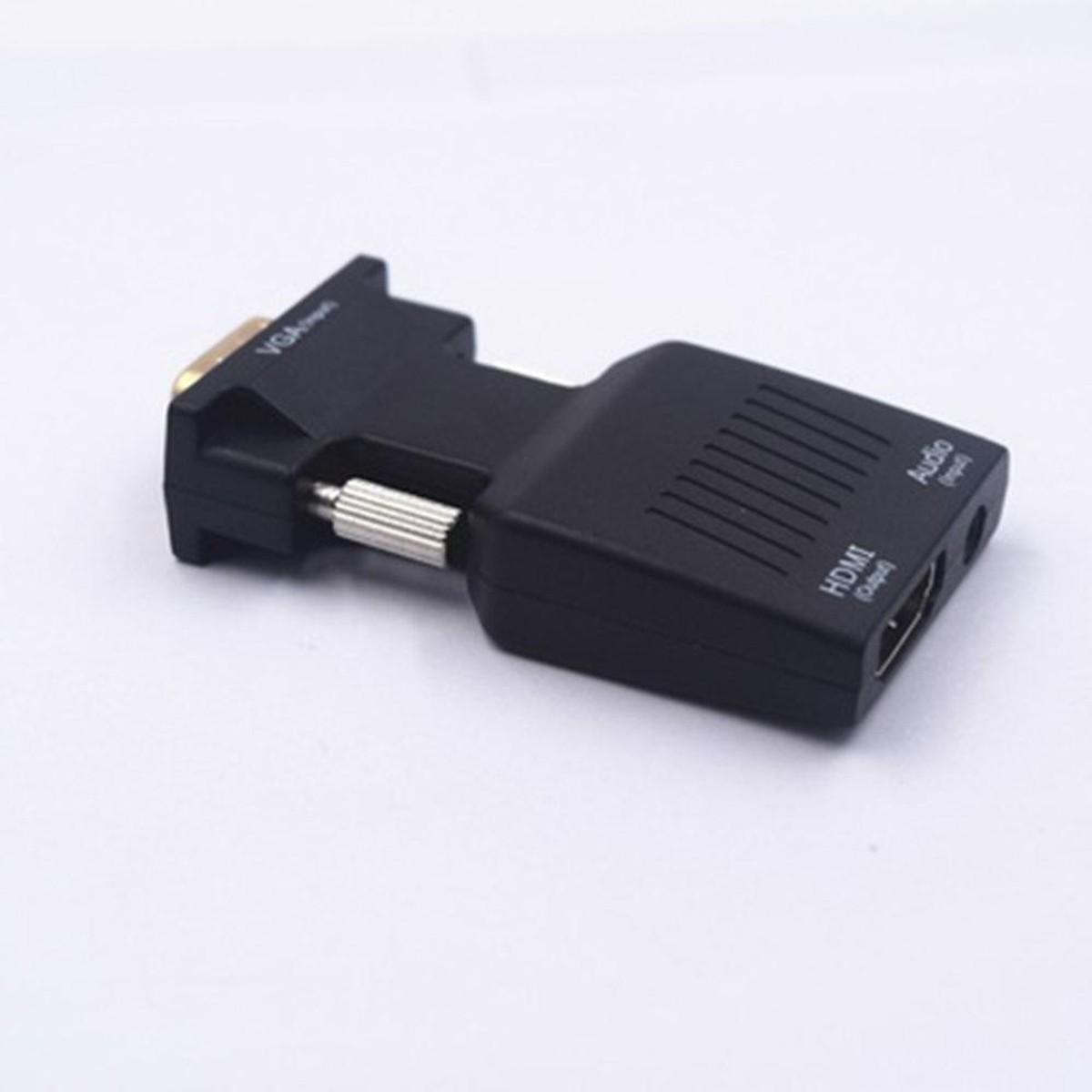 Bộ Chuyển Đổi VGA sang HDMI kèm Audio - VGA to HDMI