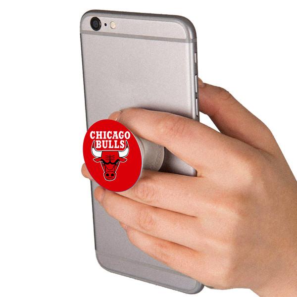 Popsocket in dành cho điện thoại mẫu Hoa Xanh Nền Đen - Hàng chính hãng