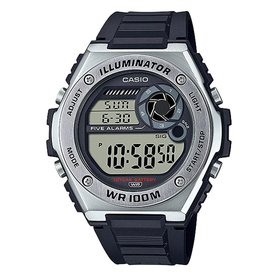 Đồng hồ nam dây nhựa Casio Standard chính hãng MWD-100H-1AVDF (50mm)