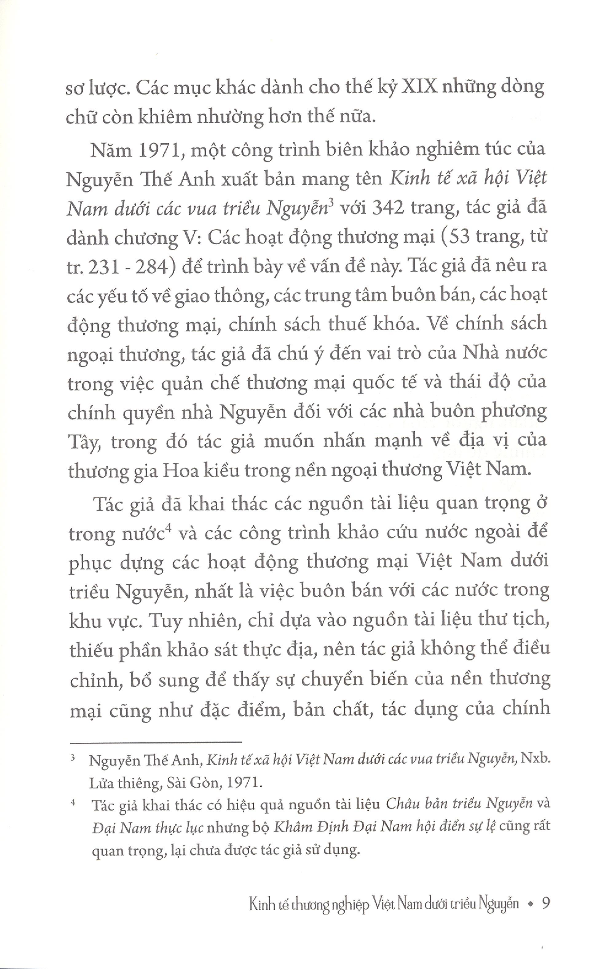 Kinh Tế Thương Nghiệp Việt Nam Dưới Triều Nguyễn
