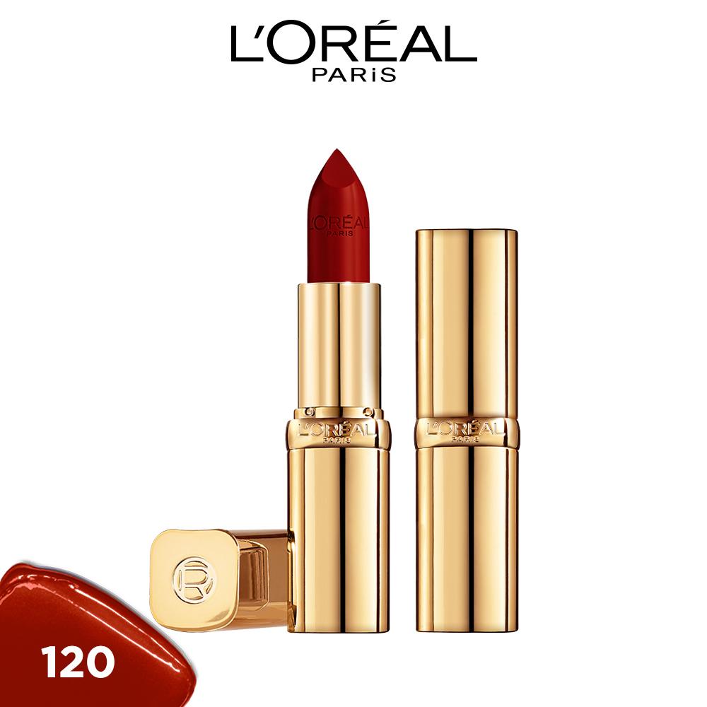 Son satin mịn mượt cao cấp L'Oreal Paris Color Riche Le Rouge 3.7g
