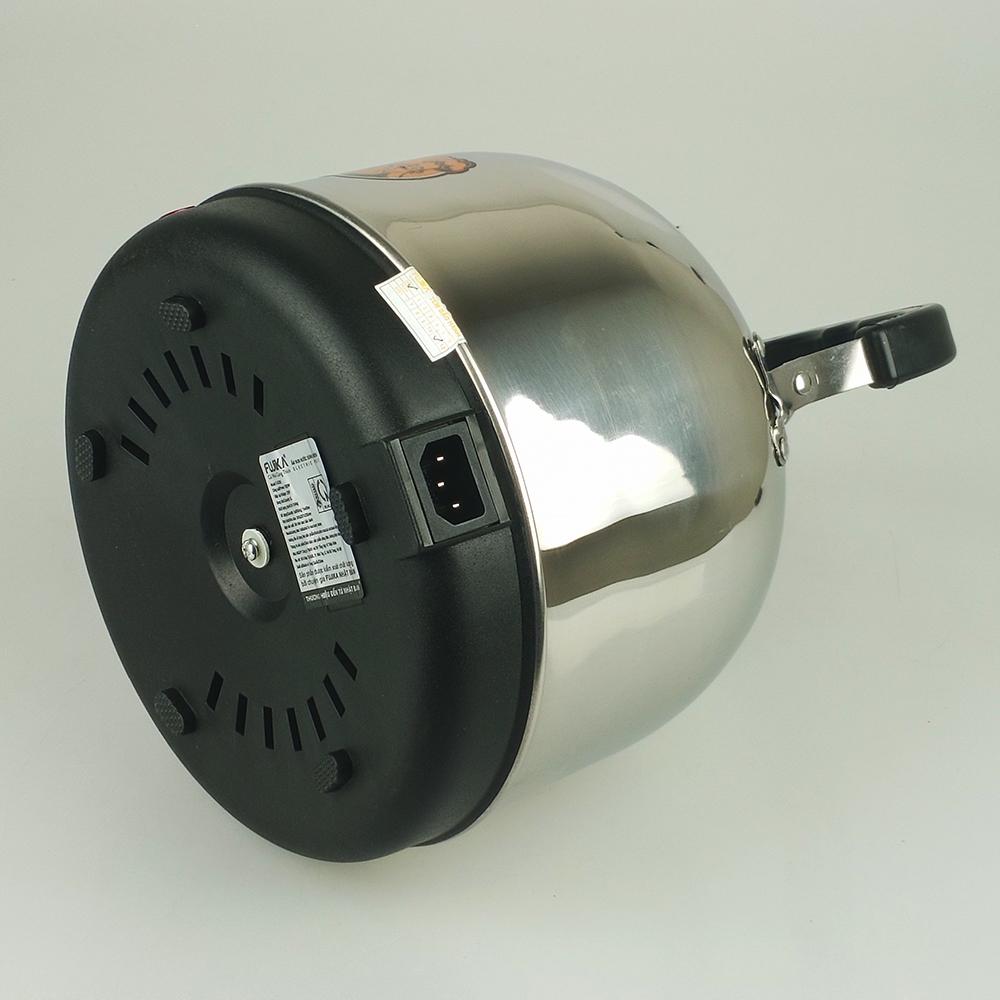 Ấm siêu tốc inox Fujika dung tích 4Lit/5Lit, công suất 1500W-Hàng chính hãng
