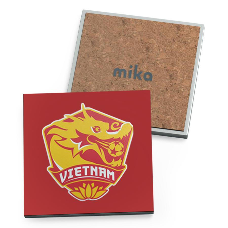 Bộ 4 Lót Ly Vuông Mika - U23VN