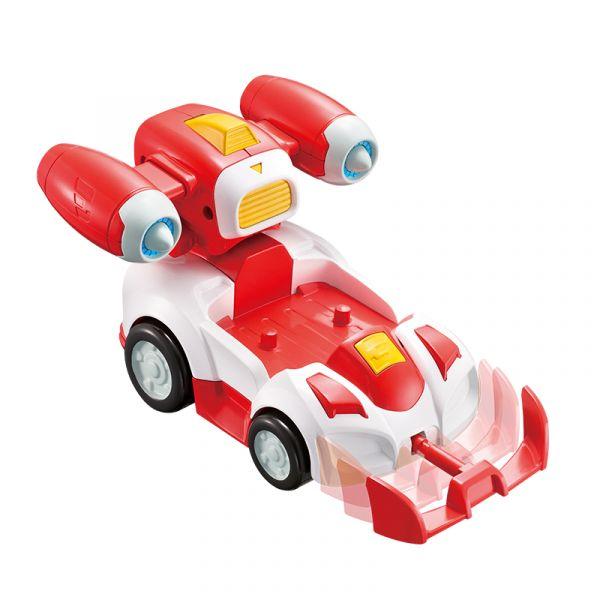 Đồ chơi SUPERWINGS Siêu xe hành động - bẻ khớp Jett tia chớp EU740991V