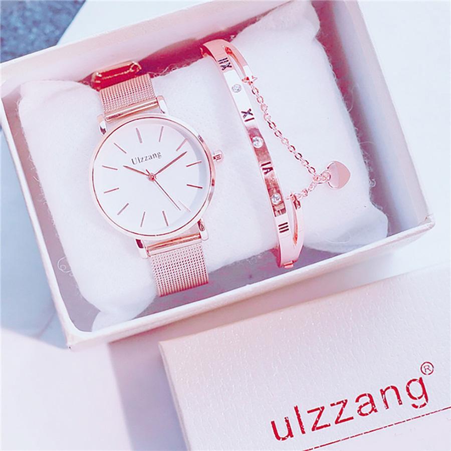 Đồng hồ nữ cao cấp (Tặng lắc tay)