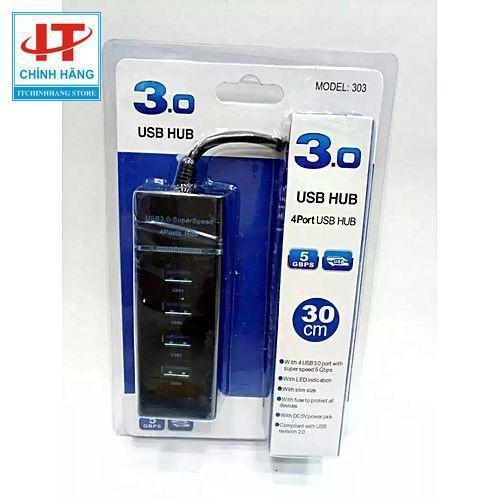 Hub chia USB 3.0 Superspeed 4 Port