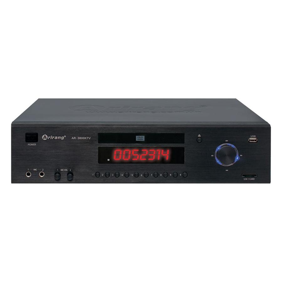 Đầu Karaoke Arirang AR-3600 KTV (Đen) - Hàng Chính Hãng
