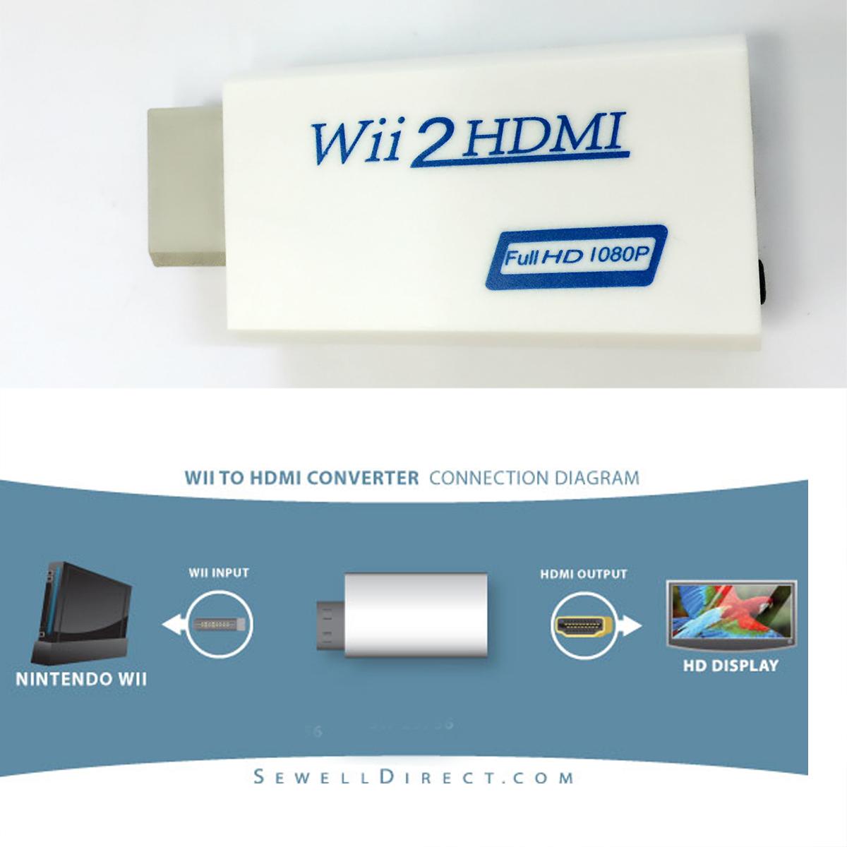 Đầu chuyển máy game Wii ra HDMI