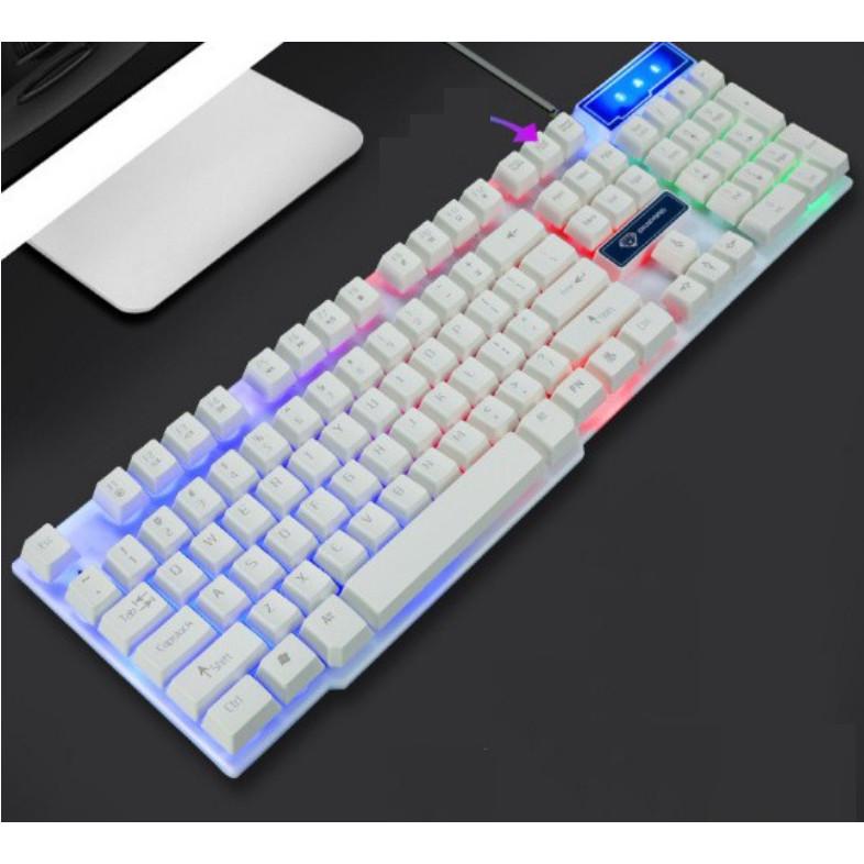 Bàn phím game thủ giả cơ Divipard GK-50 LED Rainbow - Hàng nhập khẩu