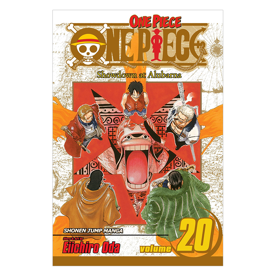 One Piece 20 - Tiếng Anh