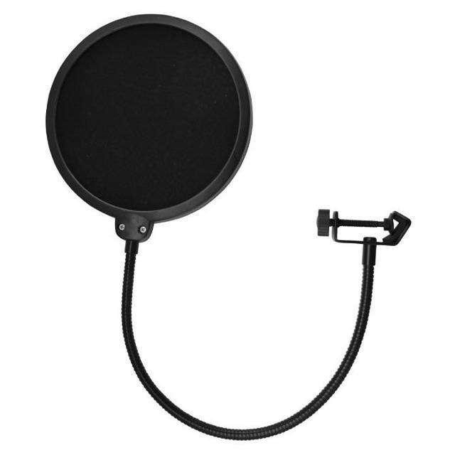 Combo giá đỡ mic thu âm và màng lọc âm dành cho mic bm 900 at100 k200 k600 siêu chắc chắn