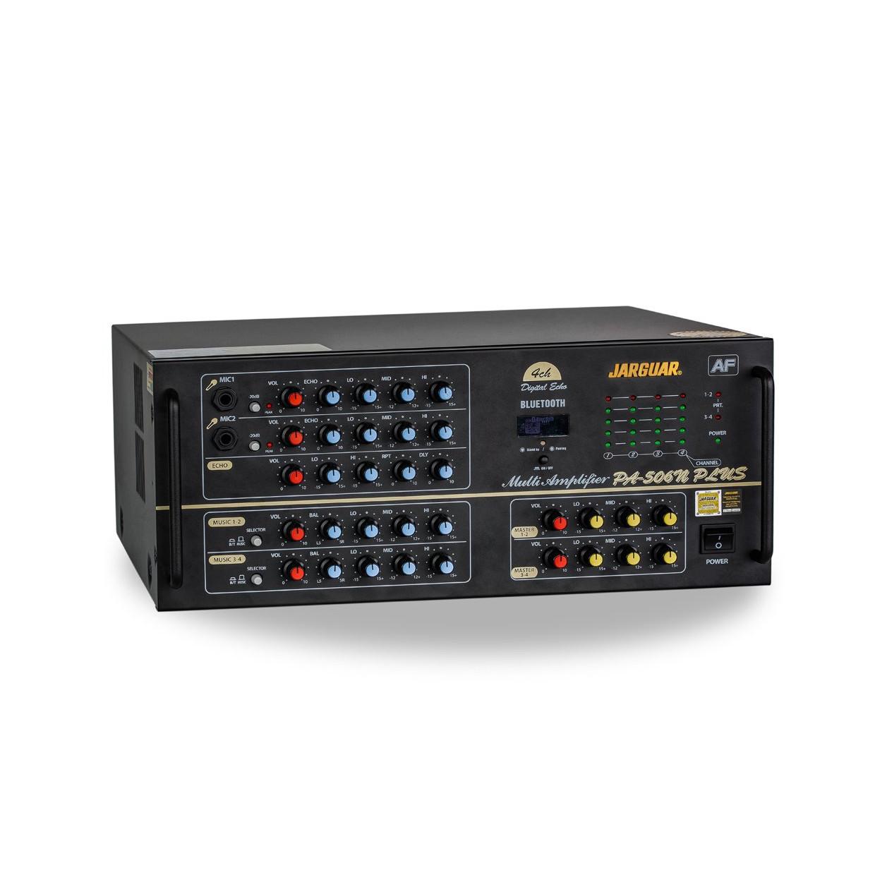Amply Jarguar PA-506N PLUS Anti-Feedback 2019- Hàng chính hãng