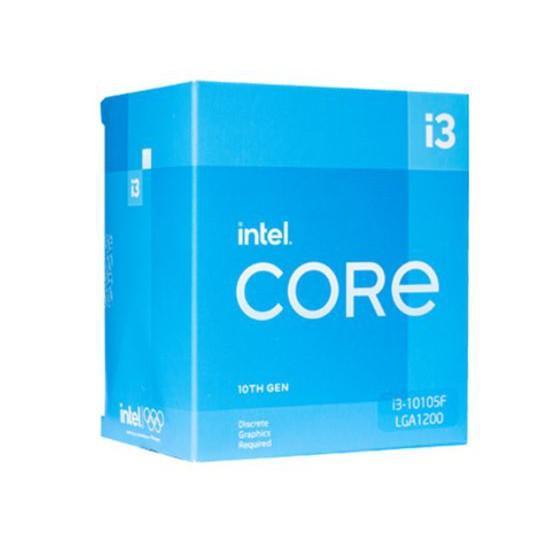 Bộ vi xử lý Intel Core I3-10105F 4C/8T 6MB Cache 3.70 GHz Upto 4.40 GHz - Chính hãng