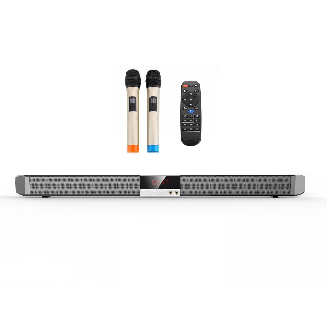 Bộ loa thanh karaoke youtube trên tivi smart SR100 -K ( Hàng nhập khẩu )