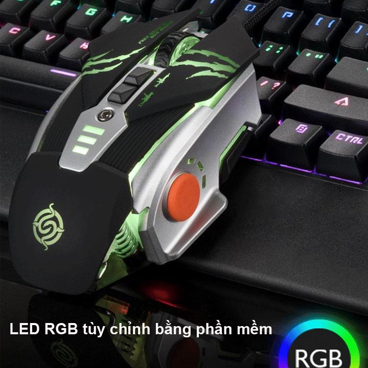 Chuột Chuyên Game PUBG & FPS Mouse K-SNAKE G0