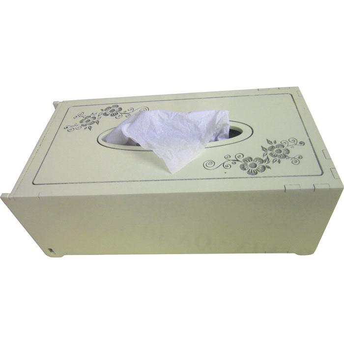 Hộp đựng khăn giấy Nhatvywood KG02 (trắng kem)