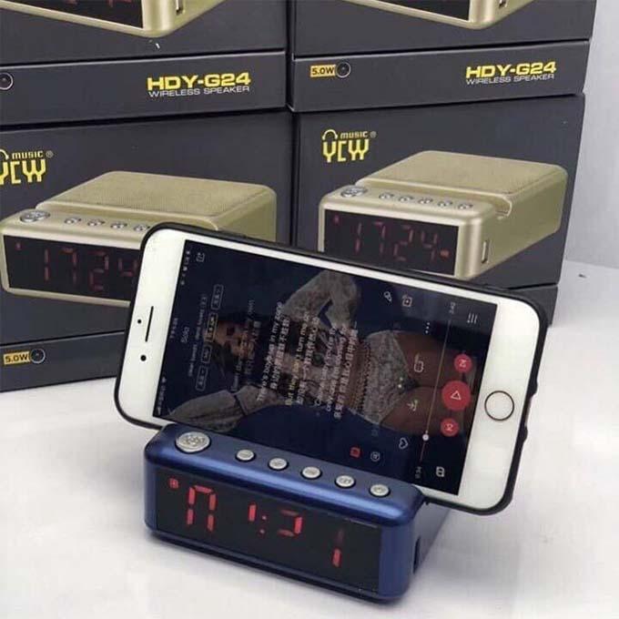 Loa Bluetooth HDY-G24 - Giao màu ngẫu nhiên