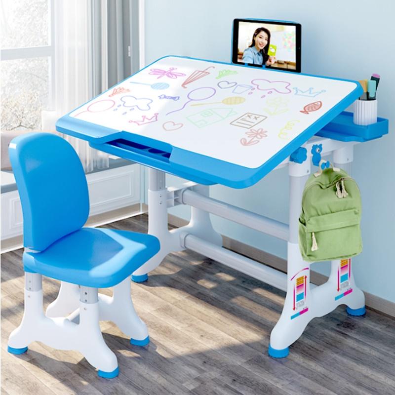 Bàn học sinh trẻ em Pehouse ,bàn học thông minh chống gù chống cận cho bé  size to mặt bàn lớn 80 cm nâng hạ độ cao nghiêng mặt bàn 45 độ phù hợp với học sinh tiểu học
