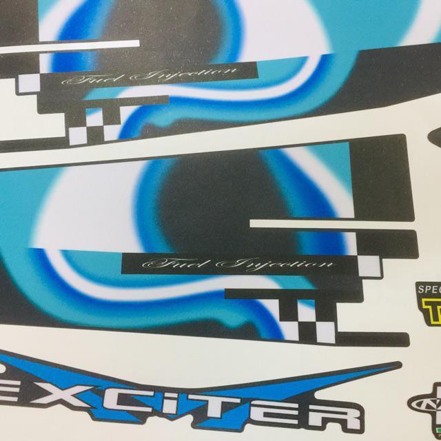 Tem phiên bản Doxou dành cho xe Exciter 150 cực ảo diệu có thể đổi màu (bộ)