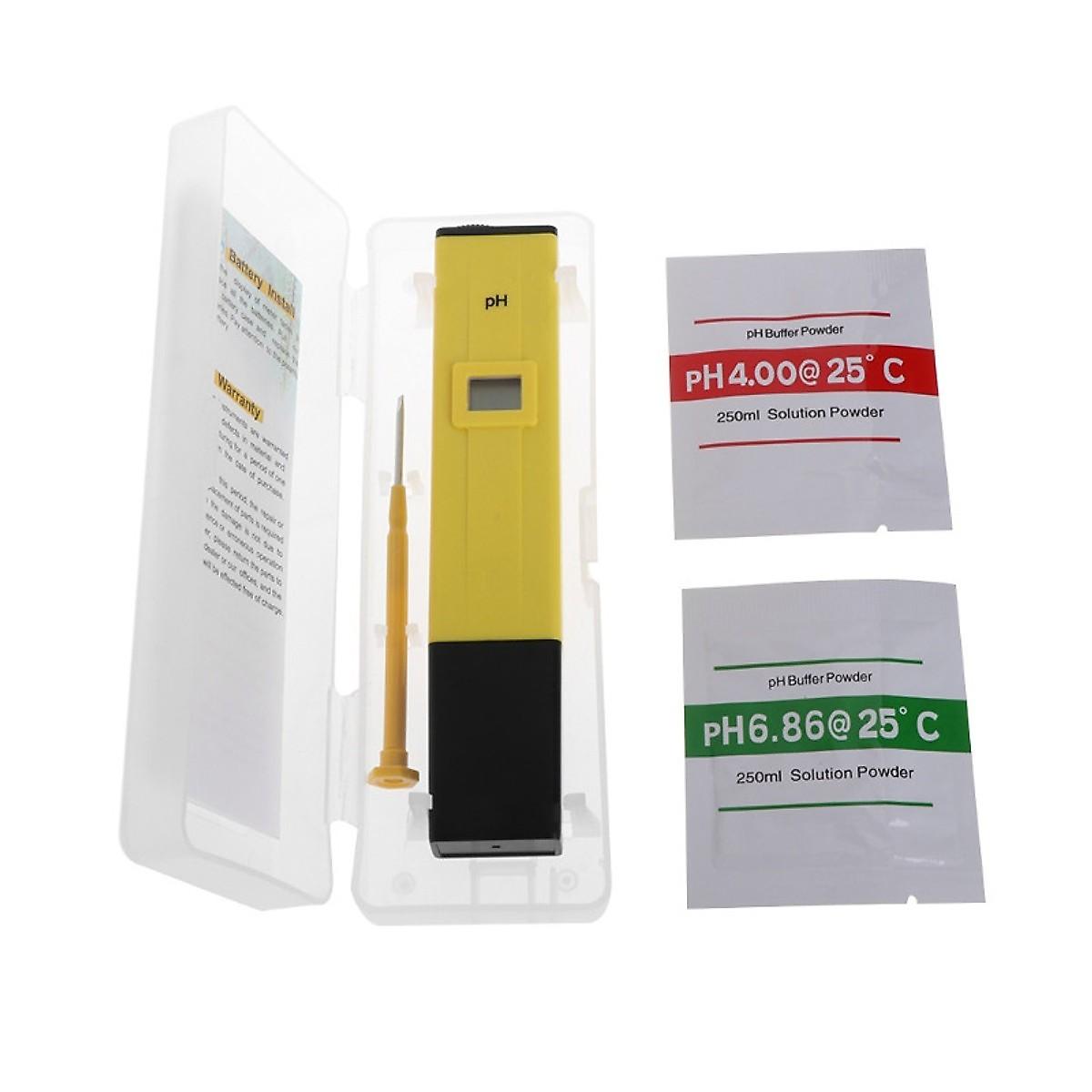 Combo bút đo độ PH và bút thử nước mẫu mới