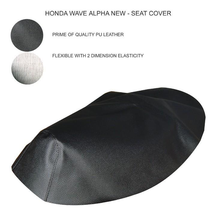 Vỏ yên / Áo yên dành cho xe Wave Alpha đời mới