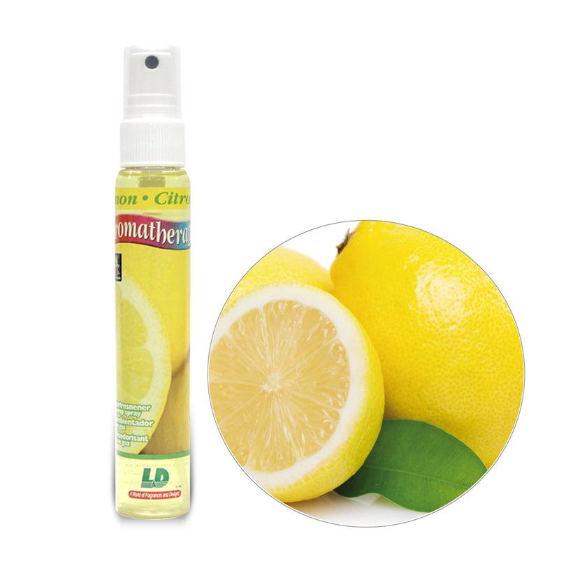 Nước hoa ô tô dạng xịt L&D AROMATHERAPY Lemon 60ml