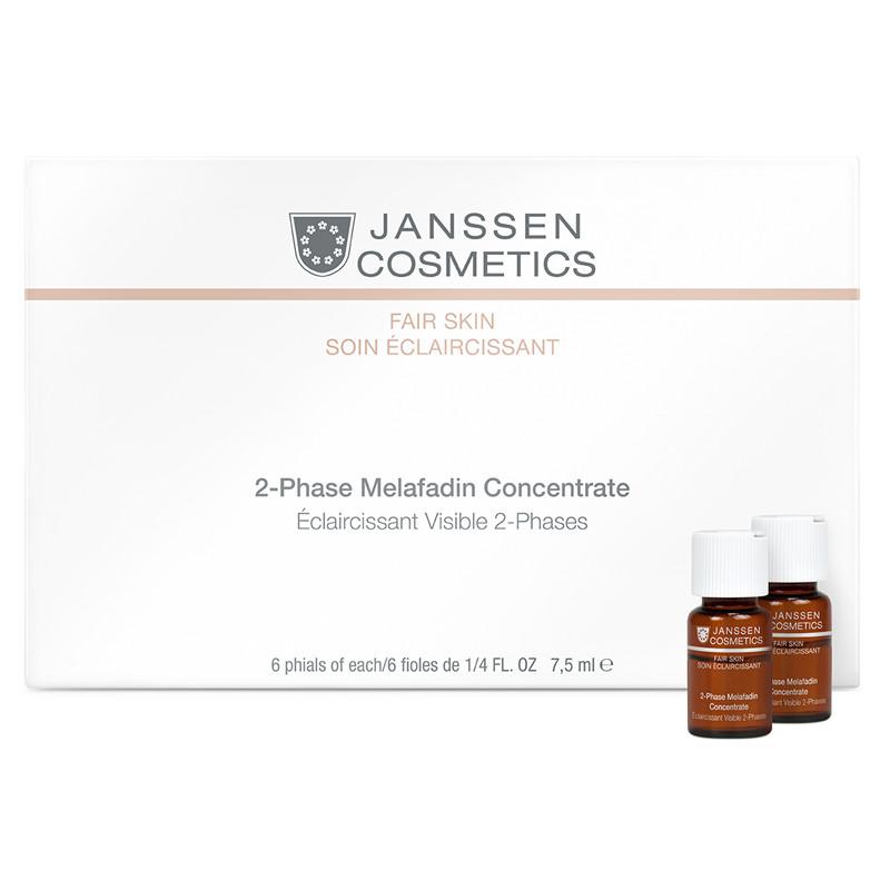 Tinh chất làm mờ vết nám 2 Phase Melafadin Concentrate 6 Ống *7.5ml - 3370P