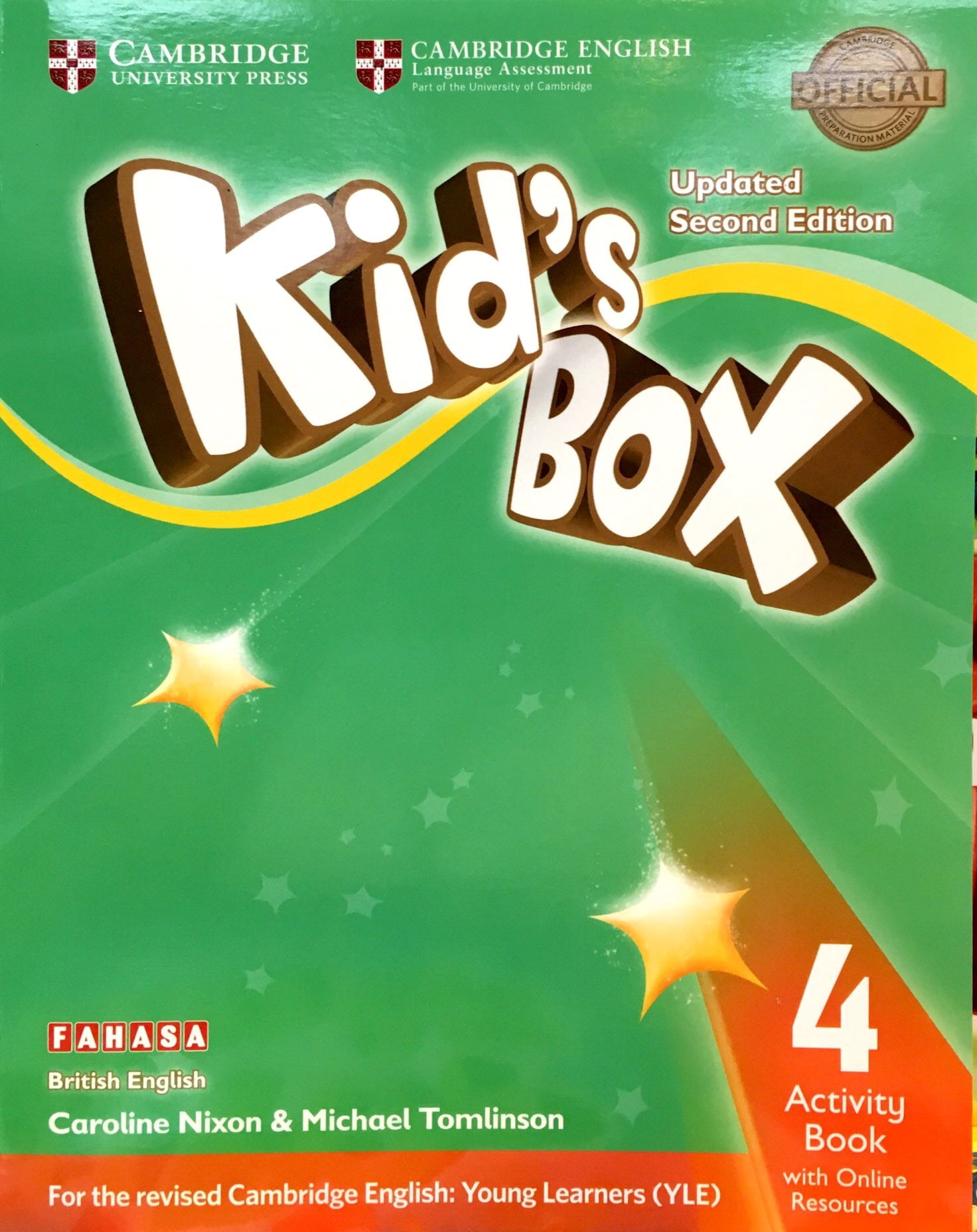 Kid's Box 2nd ed Activity Book with Online Resources Level 4