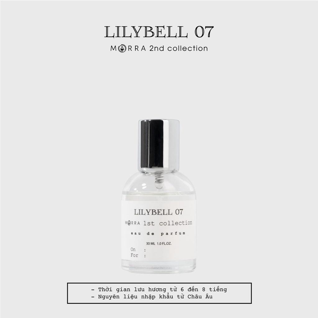 Nước hoa Morra Lilybell 07 - 30ml