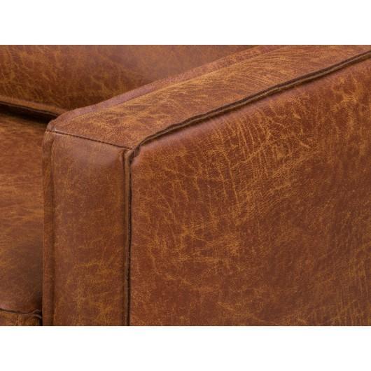 Sofa Băng Bọc Da Đơn Giản Juno Sofa