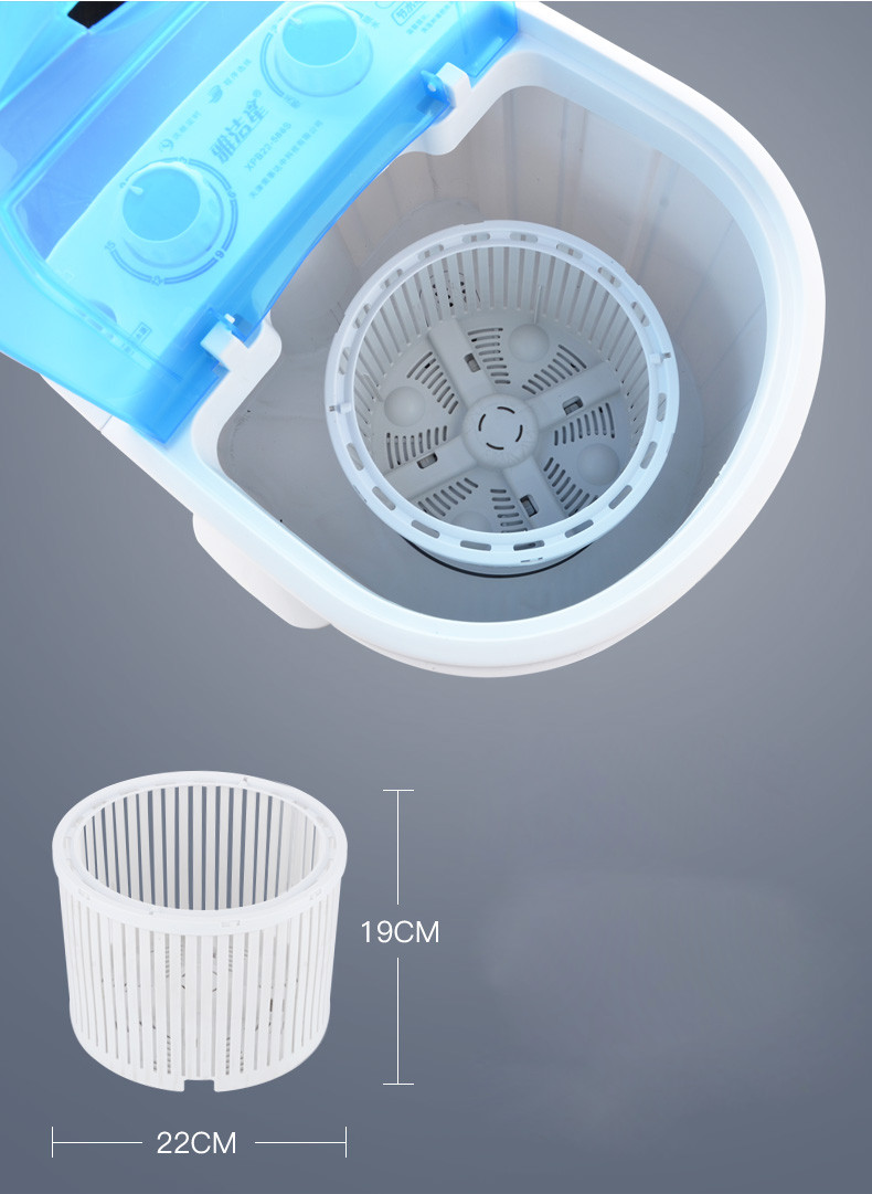 Máy Giặt Quần Áo Mini Bán Tự Động Cao Cấp Tiết KIệm Điện Nước