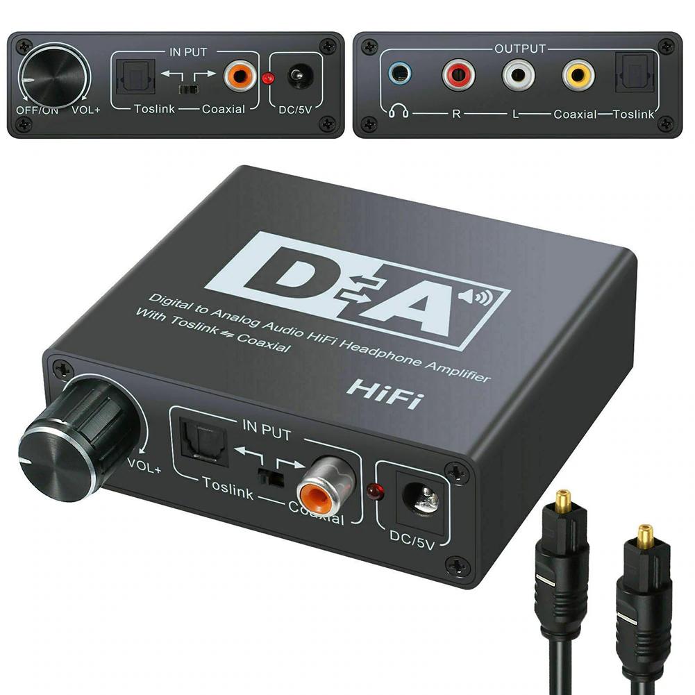 Bộ chuyển đổi âm thanh  cáp quang chất lượng cao sang sang AV audio DM6677