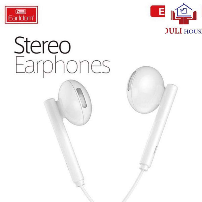 Tai nghe nhét tai có dây cổng 3.5mm cho Oppo/Vivo/..âm bass sâu, âm treble trong trẻo, thiết kế ôm sát vành tai, hàng chính hãng