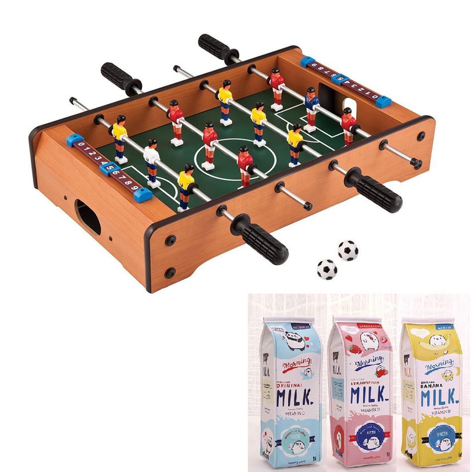 Bộ đồ chơi bi lắc gỗ chất lượng cho bé- Bàn bóng đá mini trẻ em- Bộ đồ chơi đá banh bằng gỗ mini kèm 2 quả bóng- Bàn bóng đá bi lắc- Đồ chơi vận động 4 tay cầm an toàn cho bé+ Tặng kèm hộp đựng bút xinh xắn, màu ngẫu nhiên