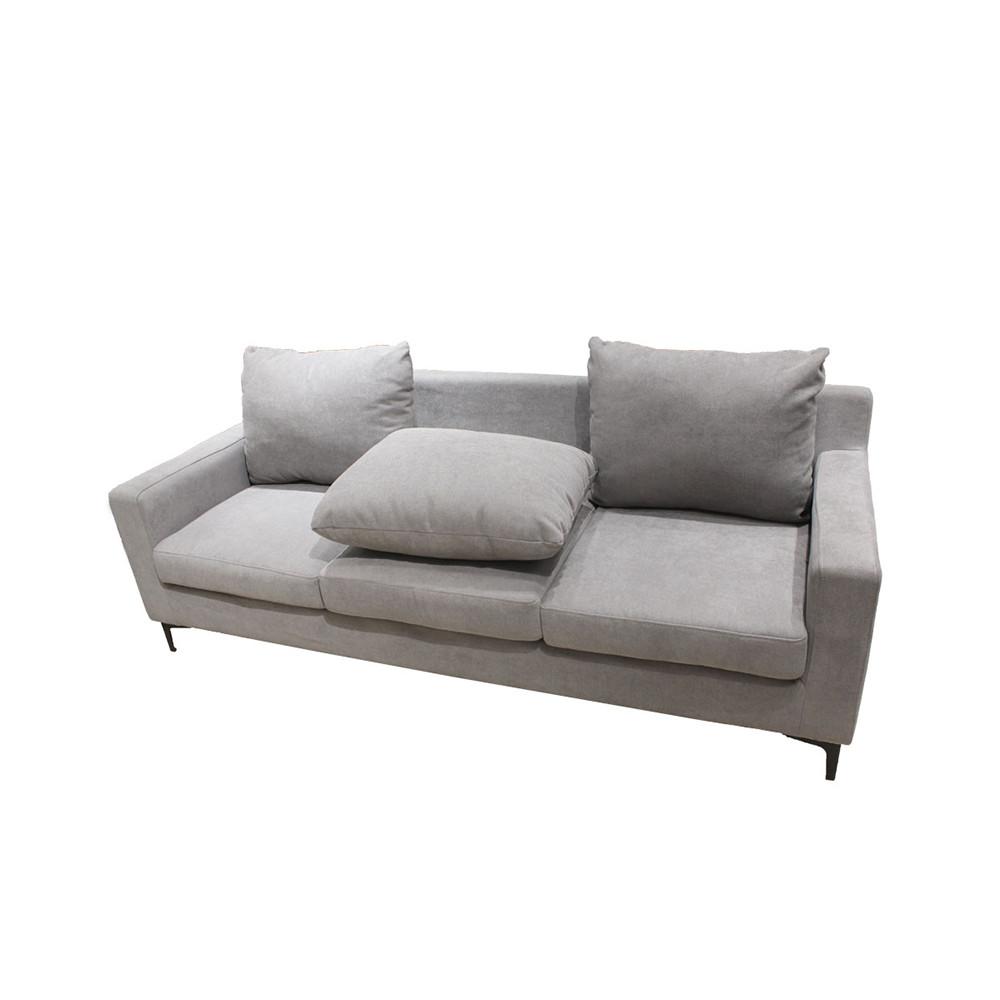 Sofa 3 Chỗ VIVEAN Màu Xám Nhạt Index Living Mall