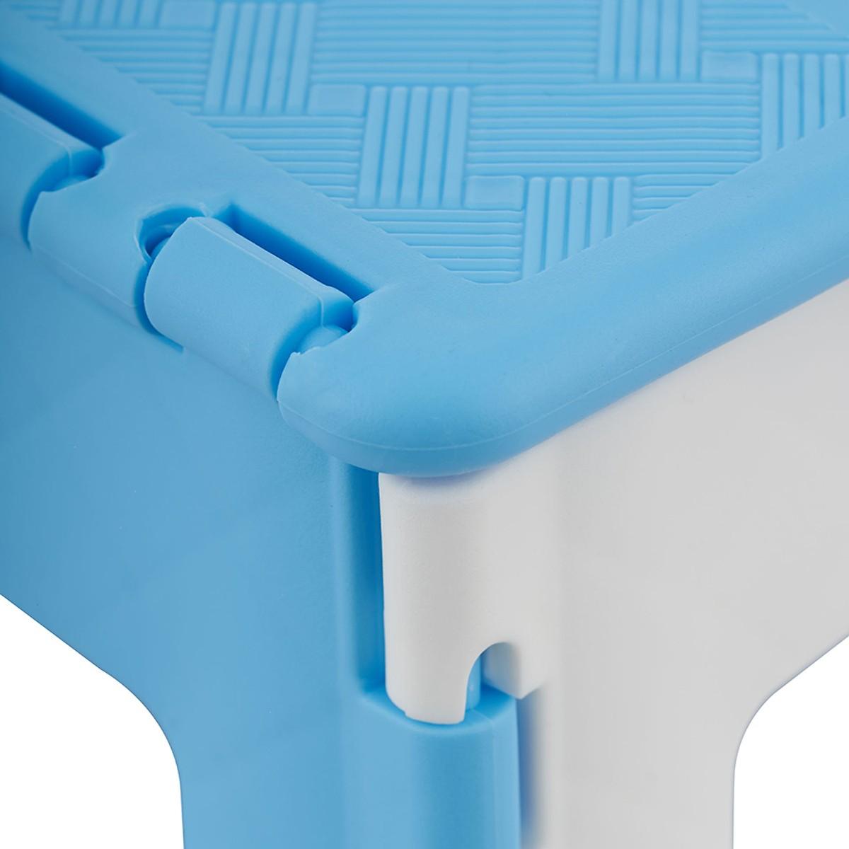 Ghế Mini Xếp Duy Tân No.945 (22 x 18.3 x 16.4 cm) Giao màu ngẫu nhiên