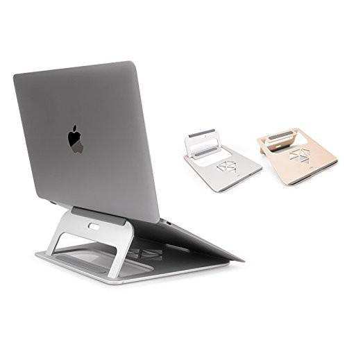 Giá đỡ nhôm cao cấp JCPAL cho Macbook- Laptop (bạc)