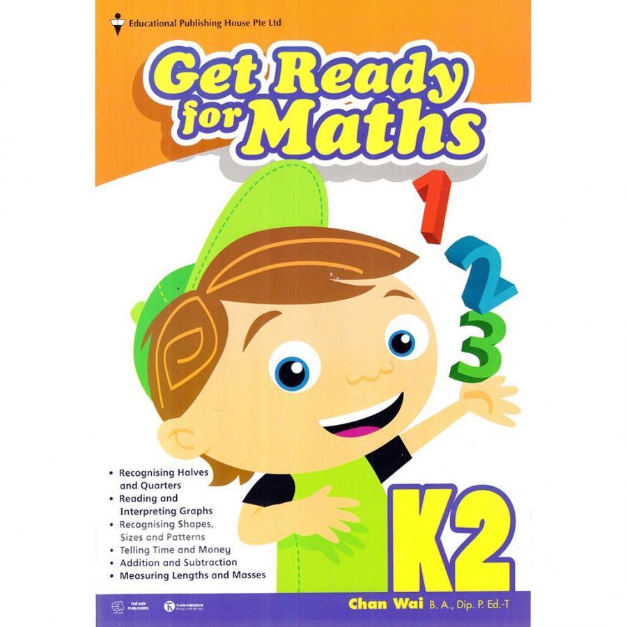 Bộ SGK Toán Singapore lớp mẫu giáo - K2 Get Ready for Maths