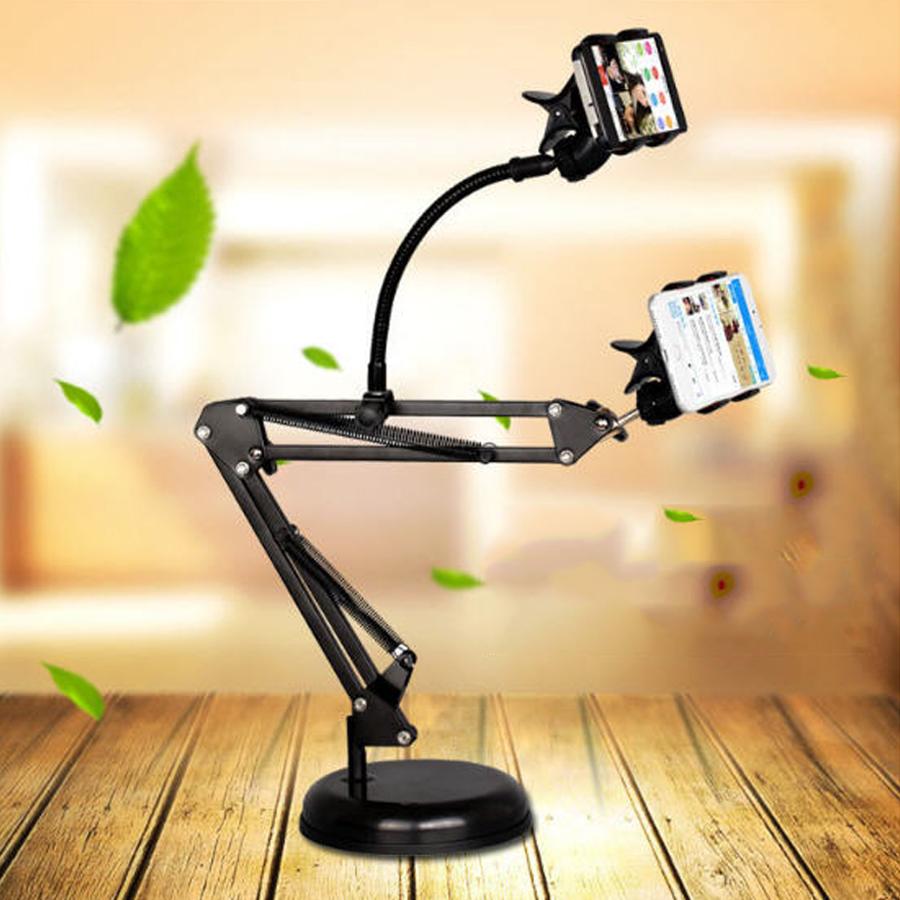 Chân đế để bàn kẹp 2 điện thoại Liketream Facebook