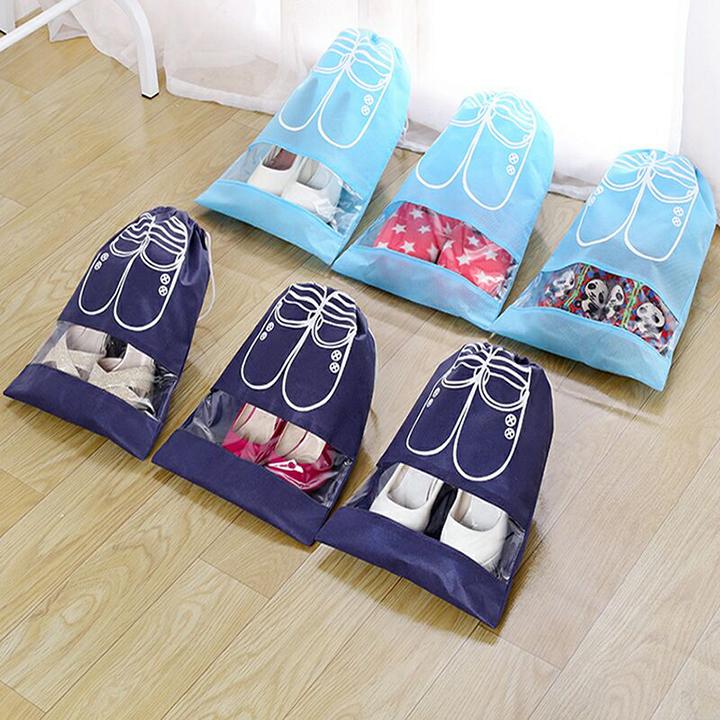 Combo 6 Túi đựng giày dép tiện dụng  - Màu ngẫu nhiên