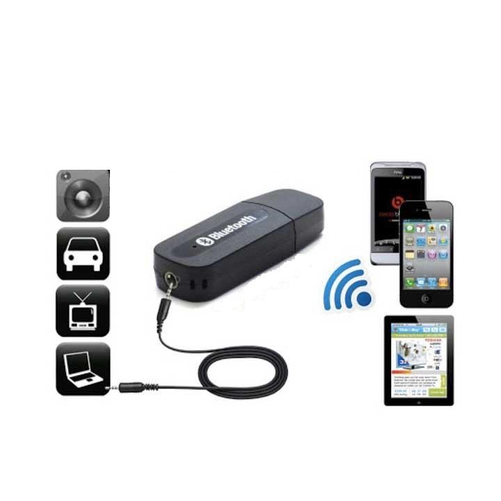 USB bluetooth YET-M1 - biến LOA THƯỜNG thành LOA BLUETOOTH (sử dụng cho loa, amply, oto...)