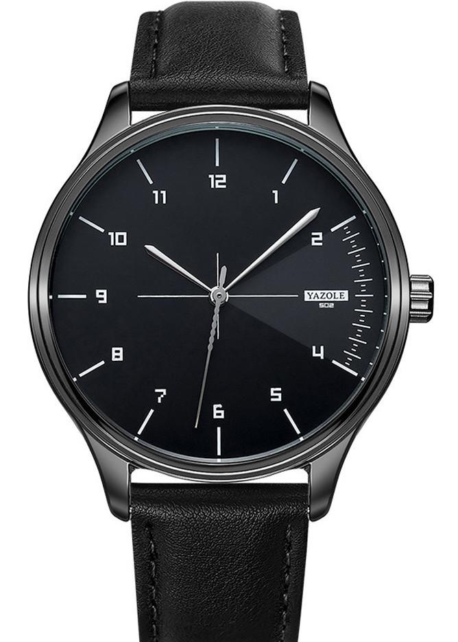 Đồng hồ nam SIêu Mỏng YAZOLE YA502 DOanh Nhân 2020 Sang trọng Dây Da PU cao Cấp
