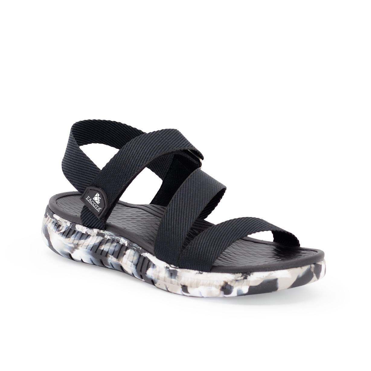 Giày sandal nam Facota V1 Sport HA03 sandal quai chéo đế camo - sandal quai dù