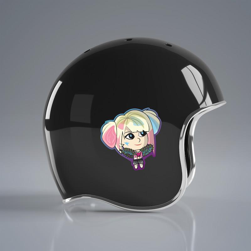 Harley Quinn - Single Sticker hình dán lẻ